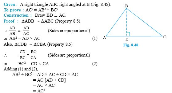 Pythagorean Theorem - Examples - High School Mathematics - 2